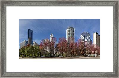 Chciago Skyline Framed Print by Twenty Two North Photography