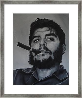Che Guevara Framed Print by David Dunne