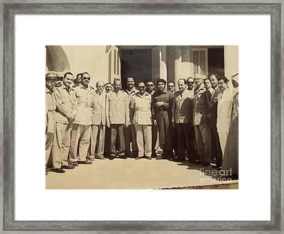 Che Guevara In Gaza Strip Framed Print