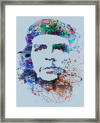 Che Framed Print by Naxart Studio