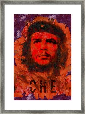 Che Framed Print by Kai Saarto