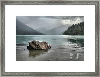 Cheakamus Lake - British Columbia Framed Print