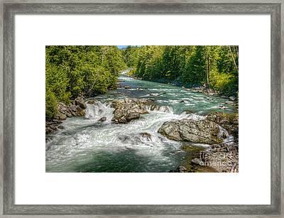 Cheakamus River Framed Print