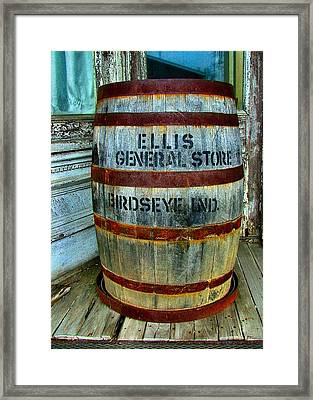 Cheap Advertisement Framed Print