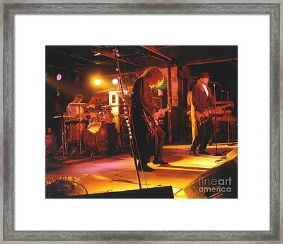 Cheap Trick-93-stage Framed Print by Gary Gingrich Galleries