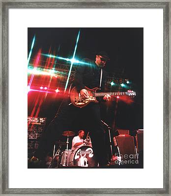 Cheap Trick-95-rick-3 Framed Print by Gary Gingrich Galleries