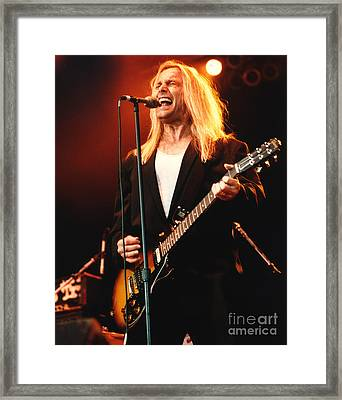 Cheap Trick-95-robin-2 Framed Print by Gary Gingrich Galleries