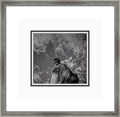 Cheaubriand #d Framed Print by Karo Evans