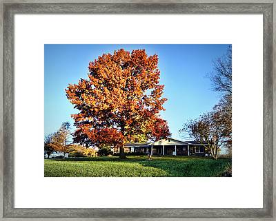 Cheavens Home Framed Print by Cricket Hackmann