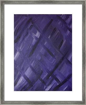 Check- As In Checkmate Framed Print by James Adger