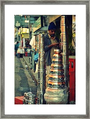 Framed Print featuring the photograph Check This Out by Rima Biswas