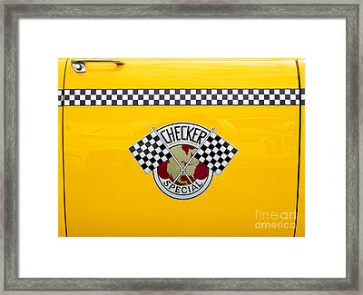 Checker Special Framed Print by Tim Gainey