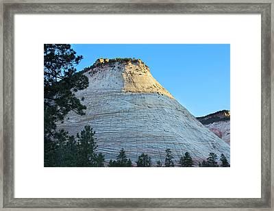 Checkerboard Mesa Framed Print by Jemmy Archer