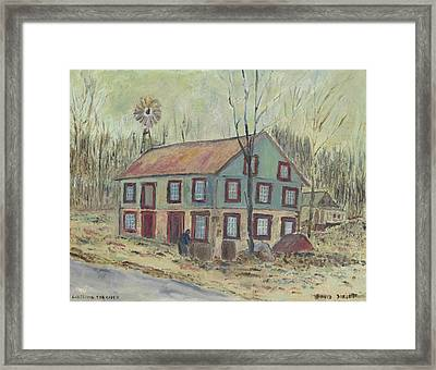 Checking The Cider Framed Print by David Dossett