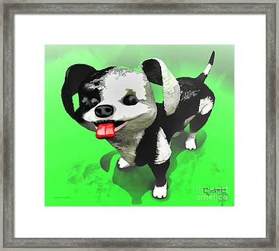 Framed Print featuring the painting Checkmate by Dave Luebbert