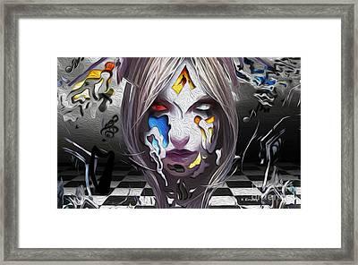 Checkmate-hd Framed Print by Karl Emsley