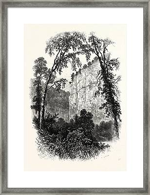 Chee Tor, Chee Dale, Uk, Britain, British Framed Print