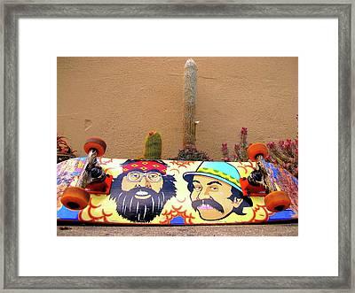 Cheech N Chong  Framed Print