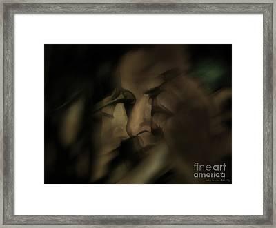 Cheek To Cheek Framed Print