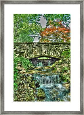 Cheekwood Bridge Framed Print by Zachary Cox
