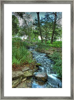 Cheekwood Creek Framed Print by Zachary Cox