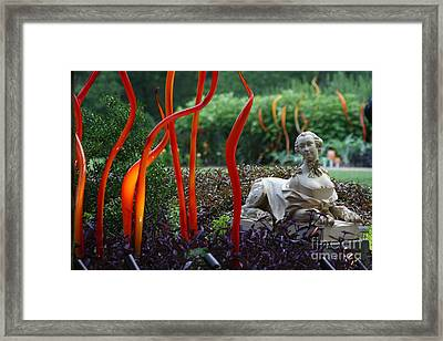 Cheekwood Gardens Exhibit Framed Print by Gayle Miller