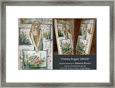Cheeky Bugger 260309 Comp Framed Print by Selena Boron
