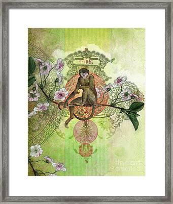 Cheeky Monkey Framed Print by Aimee Stewart