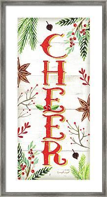 Cheer Framed Print by Jennifer Pugh