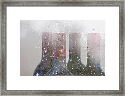 Cheer On A Rainy Day Framed Print by Georgia Fowler