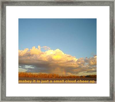 Cheer Up Framed Print by Cathy Long