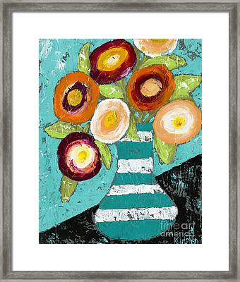Cheerful Blooms Framed Print
