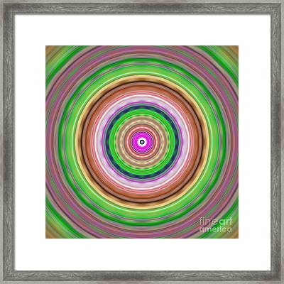 Cheerios-c-blurred Framed Print by Ron Brown