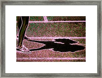 Cheerleading Framed Print by Tom Gari Gallery-Three-Photography