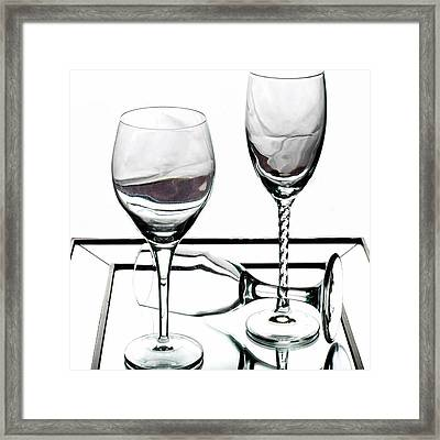 Cheers Framed Print by Camille Lopez