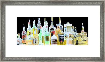 Framed Print featuring the photograph Cheers by Cheryl Del Toro