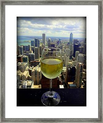 Cheers Chicago Framed Print