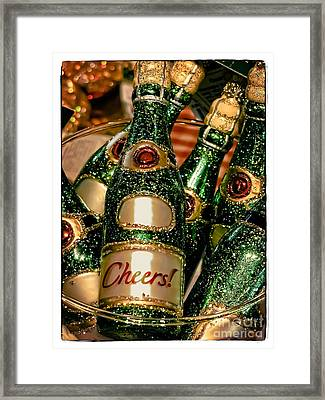 Cheers Framed Print by Colleen Kammerer