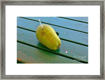 Cheers From Key West Framed Print