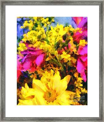Cheers Framed Print by Janine Riley