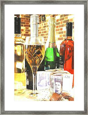 Cheers Framed Print
