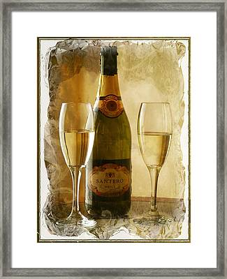 Cheers Framed Print by Lucinda Walter