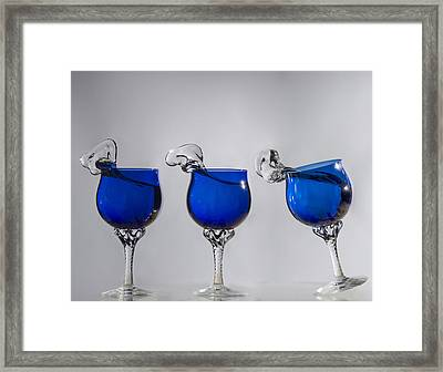 Cheers Framed Print by Paul Geilfuss