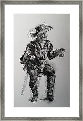 Cheers Framed Print by Rachel Klismith