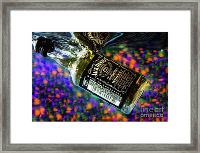 Cheers To Photography Framed Print by Imani  Morales