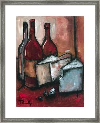 Cheese Board Framed Print by Sean Parnell
