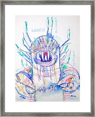Cheese Framed Print by Fabrizio Cassetta