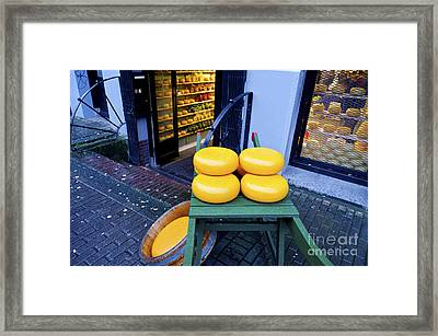 Cheese Framed Print by Pravine Chester