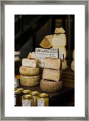 Cheesemonger Framed Print