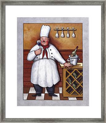 Chef 2 Framed Print by John Zaccheo